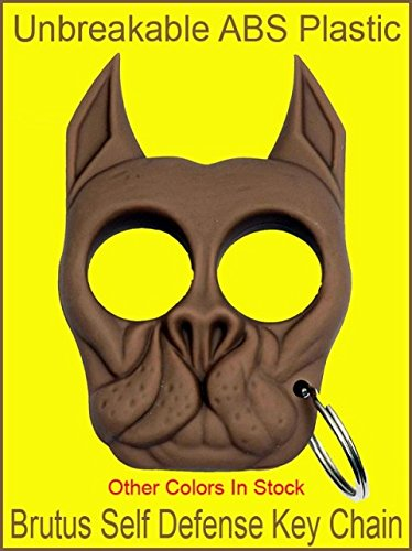 Brown Brutus Bull Dog Self Defense Key Chain Buy Online In Barbados Tiger Usa Products In Barbados See Prices Reviews And Free Delivery Over Bds 150 Desertcart
