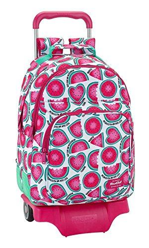 Blackfit8 with Watermelon Backpack Blackfit8 Trolley Ergonomic 905 Watermelon SAFTA rwrxSqXZ