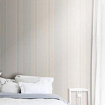 Reyqing Non Woven Gestreifte Schlafzimmer Hintergrund Wand Tapeten, Grüner  Tee, Wallpaper Nur