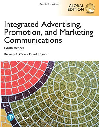 Integrated Advertising, Promotion and Marketing Communications, Global Edition