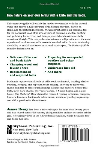 The Bushcraft Bible: The Ultimate Guide to Wilderness Survival