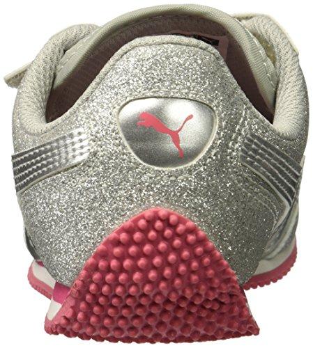 Glitz Silver Puma Sneaker V puma Silver Kids' Whirlwind 0wqqpEP