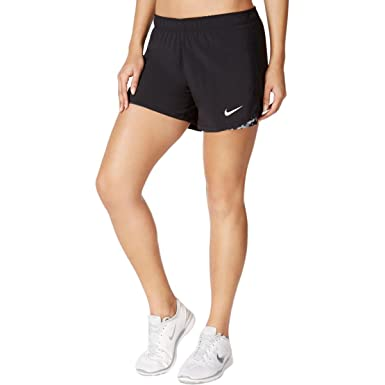 Amazon.com: Nike Womens Yoga Training Shorts Black L: Clothing