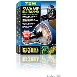 Exo Terra Swamp Glo Basking Spot Lamp, 75-Watt