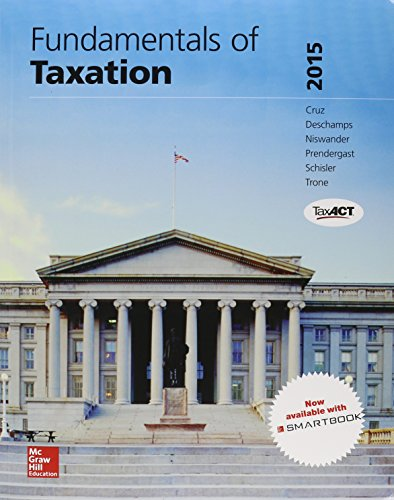 Fundamentals of Taxation 2015 w/TaxAct; Connect Accounting