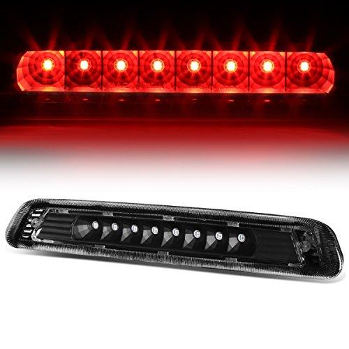 Clear Spoiler Light (Toyota 4Runner N210 Rear High Mount LED 3rd Brake Light (Black Housing Clear Lens))