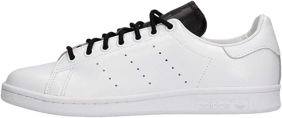 adidas Originals Stan Smith Cuir véritable pour hommes Chaussures de sport  blanches S80019