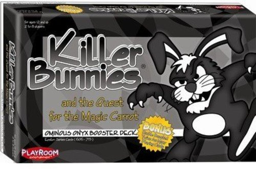 Killer Bunnies Quest Onyx Booster Games by Playroom Entertainment