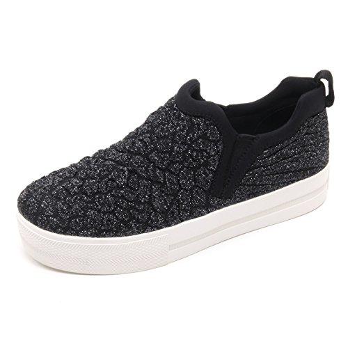Nero Scarpa Donna Slip Sneaker Scarpa B5968 Donna Ash On Jane wx8Sz0nzH