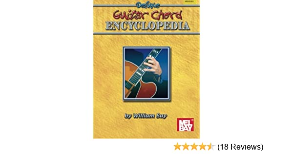 Deluxe Encyclopedia Of Guitar Chords William Bay 9780871666642