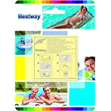 10 Pcs Vinyl Liner Pool Repair Patch Kit for Inflatable Pools, Toys, Airbeds.