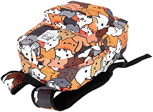 Game Neko Atsume ねこあつめ Cat Canvas Backpack Bag School Cosplay Anime Sa