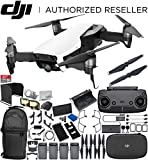 Cheap DJI Mavic Air Drone Quadcopter (Arctic White) 4-Battery Ultimate Bundle