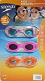 Best Goggles For Toddlers - Speedo Kids Enfants Swim Goggle Set Fun Prints Review