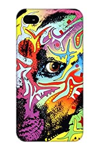 Awesome QcwTqM-6018-MCxrw Resignmjwj Defender Tpu Hard Case Cover For Iphone 4/4s- Gratitude Pit Bull Warrior