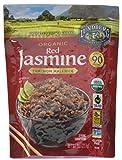 Lundberg Family Farms Organic Red Jasmine Rice, Thai Hom Mali, 8 Ounce (Pack of 6)