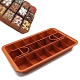 Non-stick Chocolate Brownie Pan with