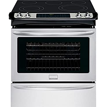 Frigidaire FGES3065PF Gallery 30 Stainless Steel Electric Slide-In Smoothtop Range Convection
