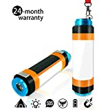 LED Camping Lantern - Camping Lantern, USB Rechargeable LED Camp Lights, Multifunctional Camping Lanterns, [Camping Accesories][Camping Gear] Portable Hanging Magnetic Power Bank Waterproof for Hiking (Compact Size-6