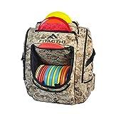 FITactic Luxury Frisbee Disc Golf Bag Backpack (Capacity: 25-30 Discs) (Digital Desert Camouflage)