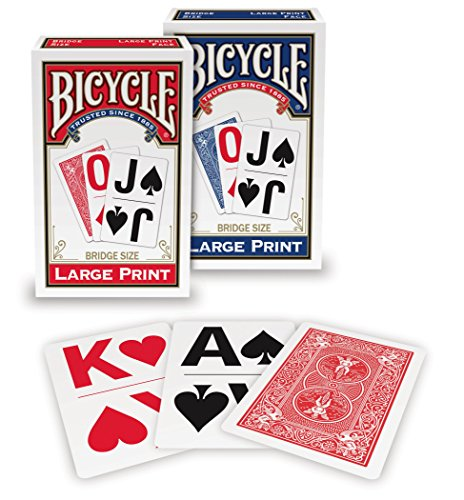 Bicycle Large Print Playing (Large Print Playing Cards)
