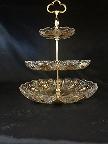 czech-bohemia-crystal-glass-luxury-etager-3-floors-38cm-16-decorated-gold