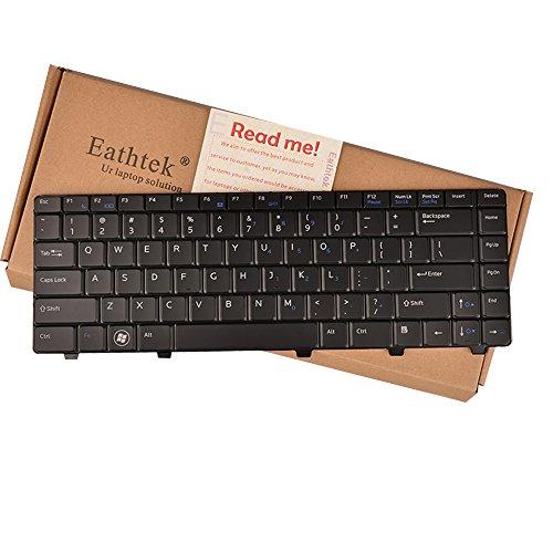 Eathtek Replacement Keyboard with Backlit for Dell Vostro 3300 3400 3500 V3300 series Black US Layout, Compatible with part number 5MFJ6 05MFJ6 0TJFH0 TJFH0 NSK-DJ301