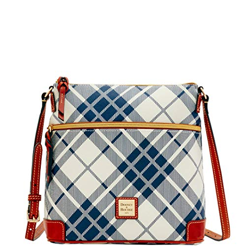 Dooney & Bourke Harding Crossbody Shoulder Bag Navy & Tan