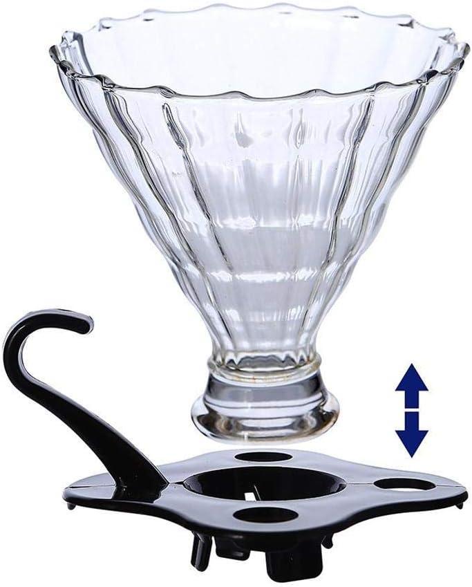 youngfate - Cafetera Filtro de Cristal para cafetería, Filtro de ...