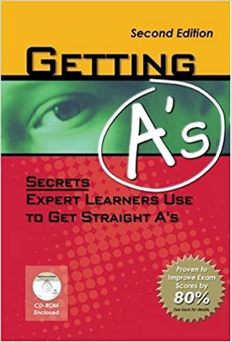 Book Getting A's: Secrets Expert Learners Use To Get Straight A's by Steven R. Daugherty (2004-01-03)