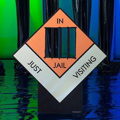 Monopoly Just Visiting Jail Standee 5 ft. 2 in.
