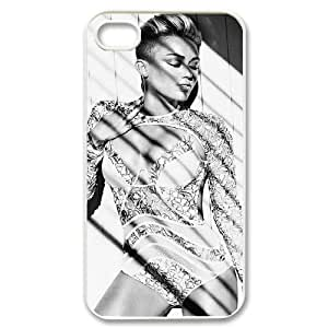 WEUKK Miley Cyrus iPhone 4,4S,4G cover case, customized cover case for iPhone 4,4S,4G Miley Cyrus, customized Miley Cyrus cell phone case