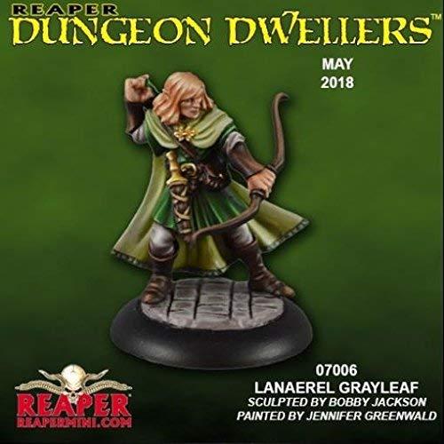 Reaper Dungeon Dwellers: Lanaerel Grayleaf, Elf Ranger