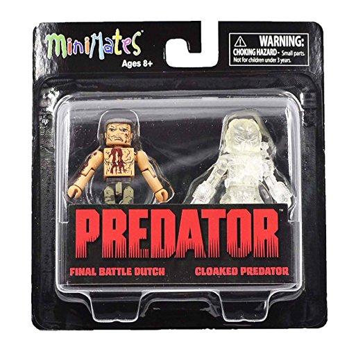 Minimates Predator Series 2 Final Battle Dutch Cloaked Predator Figure - Figure Set Predator