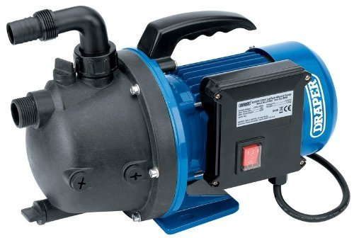 Draper Tools 31555 Surface Mounted Pump 230 V, Blue, 76 Litre