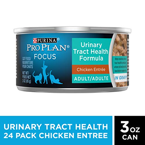 Purina Pro Plan Urinary Tract Health, High Protein Adult Dry Cat Food & Wet Cat Food