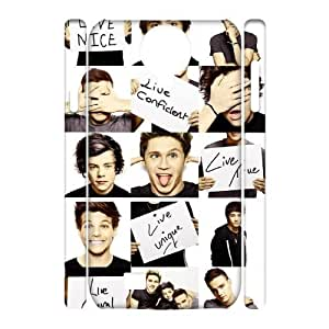 ALICASE Diy Case One Direction Cover For Samsung Galaxy S4 i9500 [Pattern-1]
