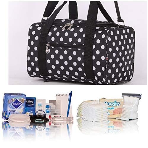 Black Polka dot Essentials pre-Packed Maternity/Hospital ...