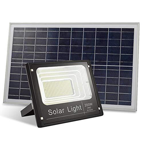 Q-fo Proyector Solar LED Exteriores, Luces De Seguridad Solares ...