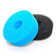 Replacement Filter for Jebao CF-10 bio pressure UV filter, Blue and Black