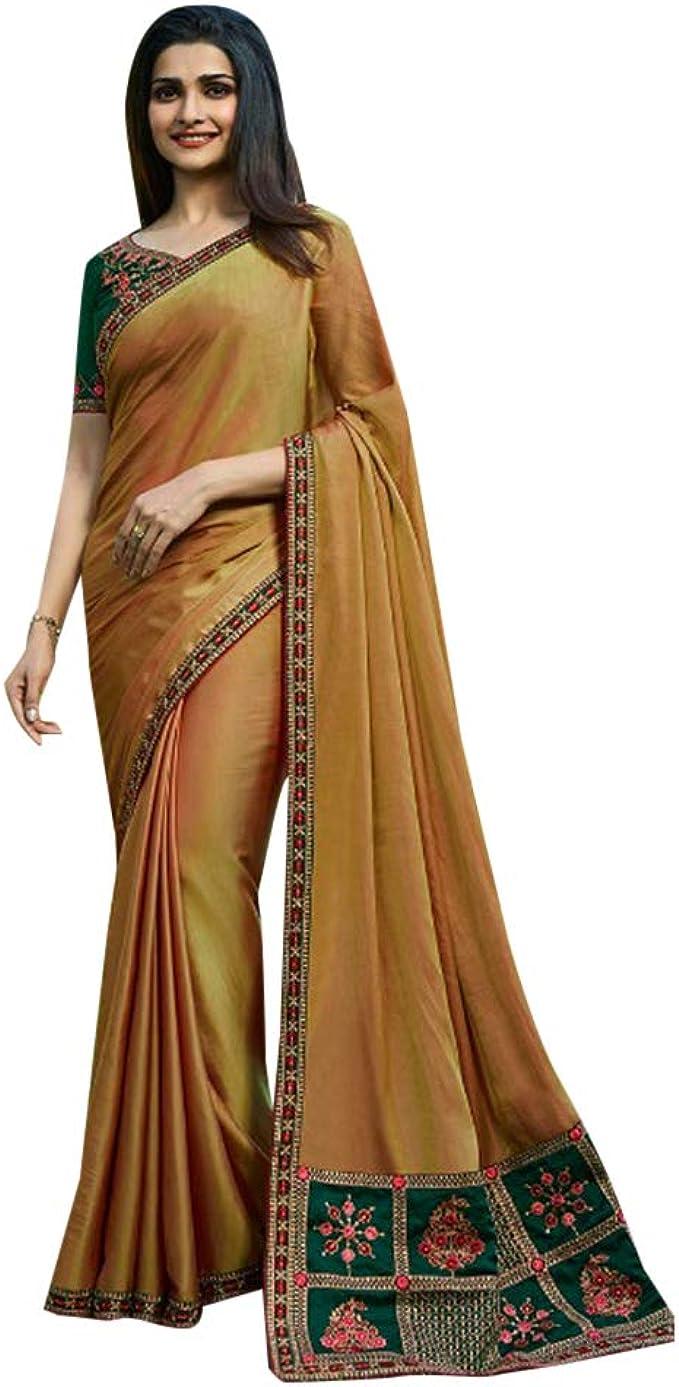 ETHNIC EMPORIUM Indian Prachi Desai Diseñador de Seda de Bollywood ...