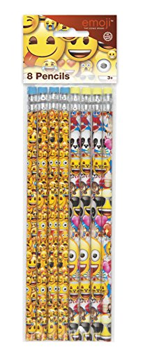 Emoji Pencil Party Favors, (Back To School Themed Costumes)