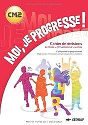 Cahier Moi je progresse CM2 nouvelle dition CM2 (le livre)