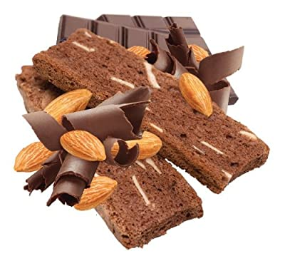 Irene's Bakery All Natural Fat Free Chocolate Almond Biscotti