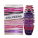 Justin Bieber Girlfriend Eau De Parfum Spray for Women, 100ml/3.4 oz.