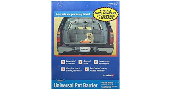 Universal Wire Vehicle Barrier From Kennel Aire By Remington Amazon