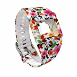 Moretek Adjustbable Wristband Replacement Band for Fitbit Blaze Charge Smart Watch Strap Accessory