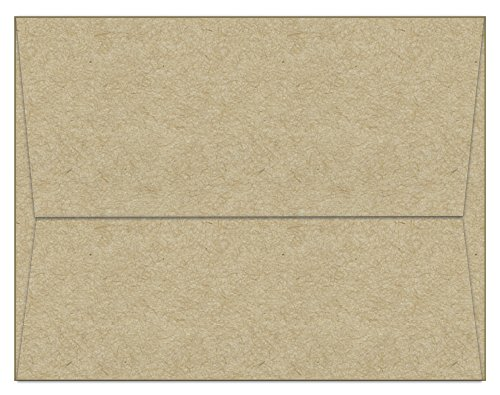 Invitations Postcard Fabulous - 100 Kraft A6 Envelopes - 6.5