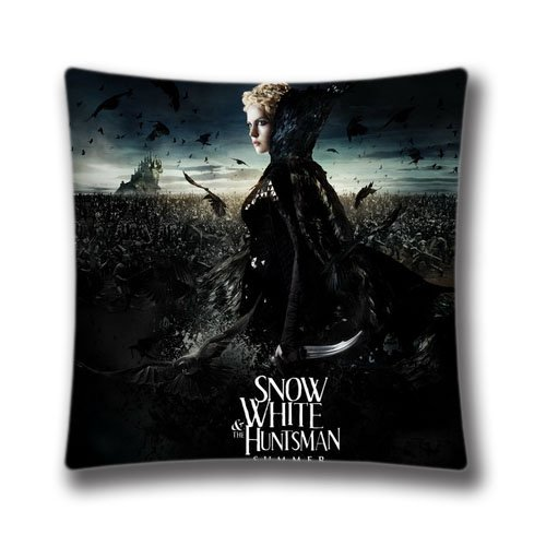 Generic Snow White and the Huntsman Movie Zippered Pillowcase Square 45x45 Cm Pillow Cushion Cover Case