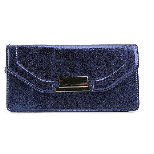 Aldo Bagaladi Damen Blau Clutch-Taschen